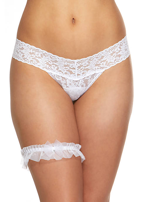Hanky Panky® Crystal Bow Low Rise Thong