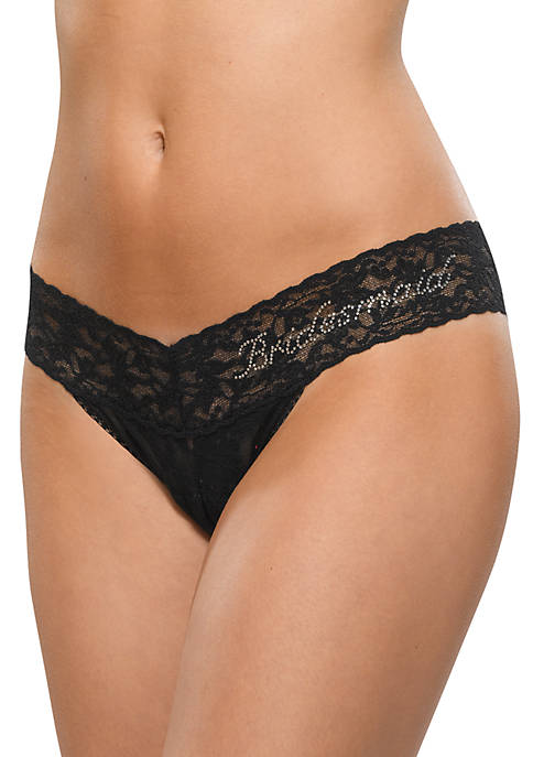 Low Rise Bridesmaid Thong - Online Only - 491031