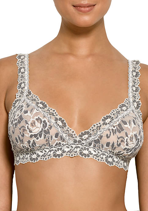 Cross-Dyed Crossover Bralette - 597801