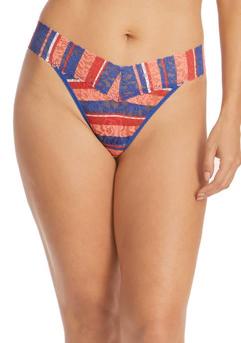 Hanky Panky® Seaside Stripe Original Rise Thong