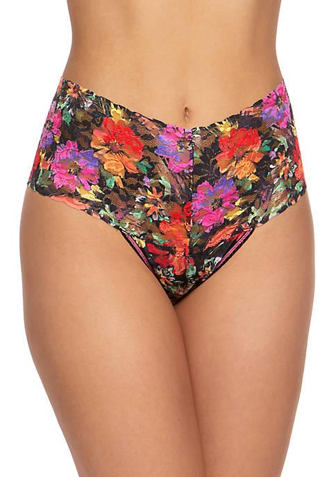 Hanky Panky® Summer Nights Retro Thong Panties