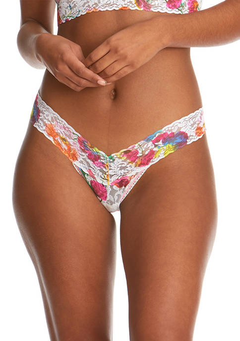 Hanky Panky® Floral Reflections Signature Lace Low Rise