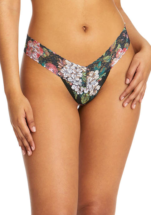 Hanky Panky® Baroque Blooms Low Rise Thong
