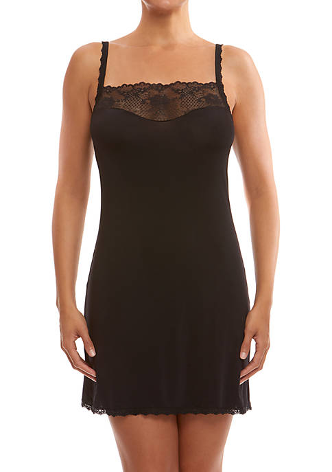 Hanky Panky® Luxe Chemise with Lace