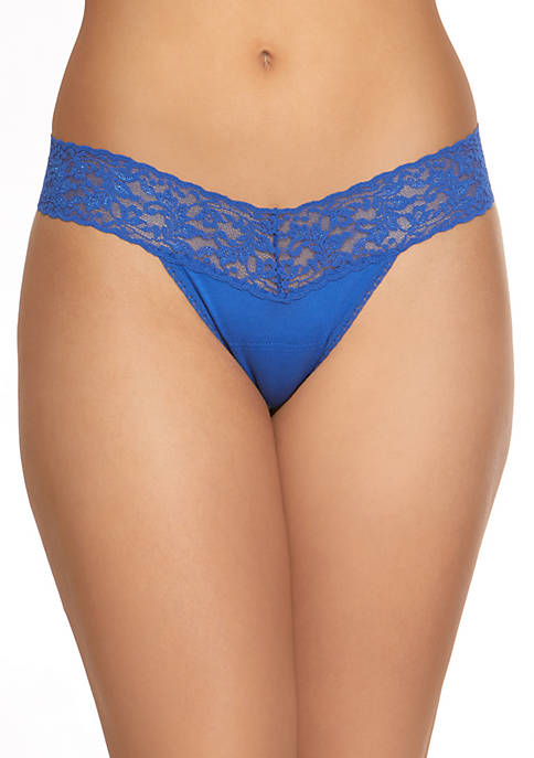 Cotton With A Conscience Low Rise Thong - 891581