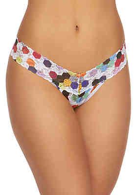 3f90bd2dc Hanky Panky® Dot Low Rise Lace Thong