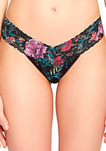 Moody Blooms Low Rise Thong - 8W1584