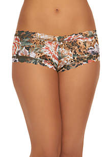 Safari Bloom Boyshort Panties