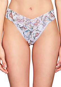 Dallas Shaw Print Thong- 9T1184