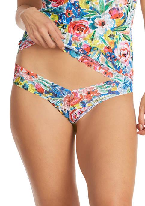 Hanky Panky® Brilliant Bloom Low Rise Thong