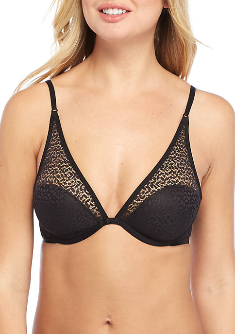 Modern Lace Plunge Bra