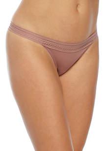 Classic Cotton Lace Thong- DK5007
