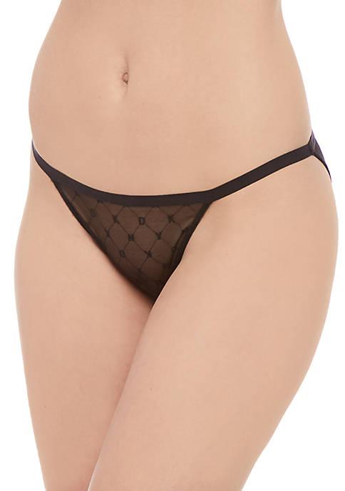 DKNY Monogram String Bikini
