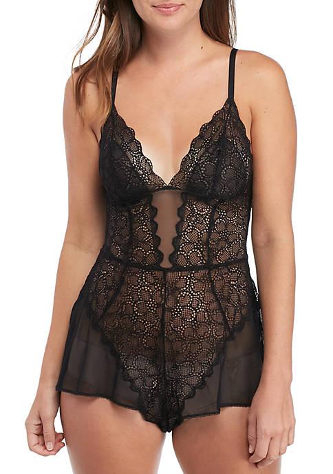 Superior Lace Romper Teddy