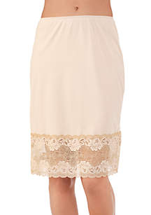Half Slip With Lace - 11741