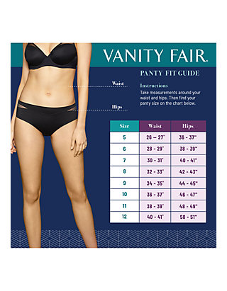 be0d1a85ba7b Vanity Fair® Perfectly Yours Lace Nouveau Full Brief - 13001 | belk