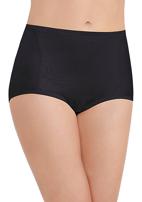 Smoothing Comfort Brief Panty with Lace