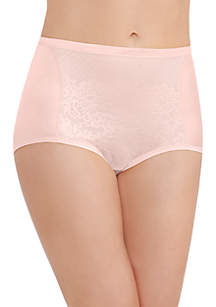 Smoothing Comfort with Lace Brief - 13262