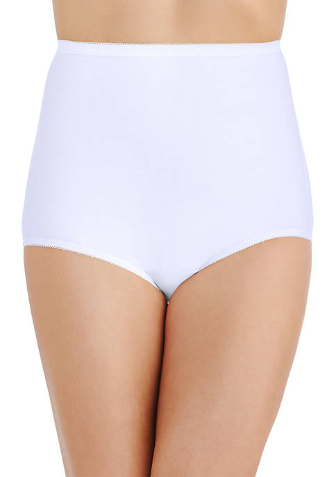 Perfectly Yours Tailored Cotton Full Brief Panty