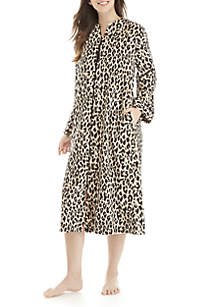 Zip Animal Fleece Robe