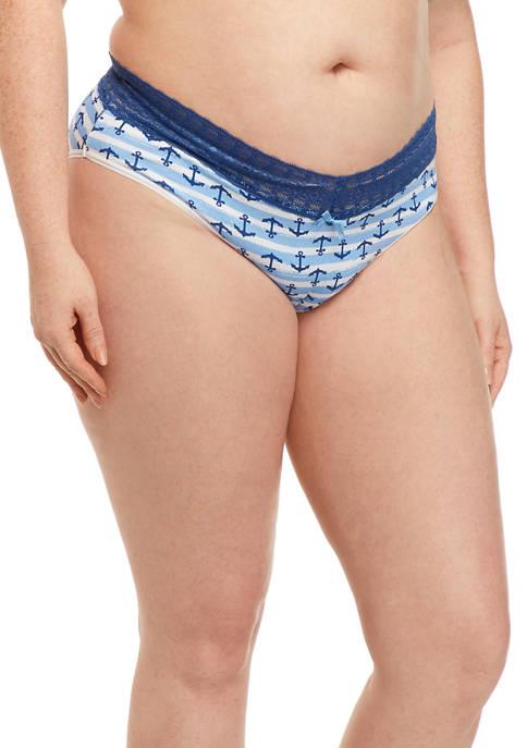 Relativity Cotton Bikini Panties