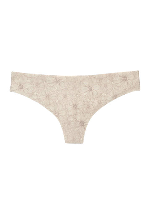Floral Thong