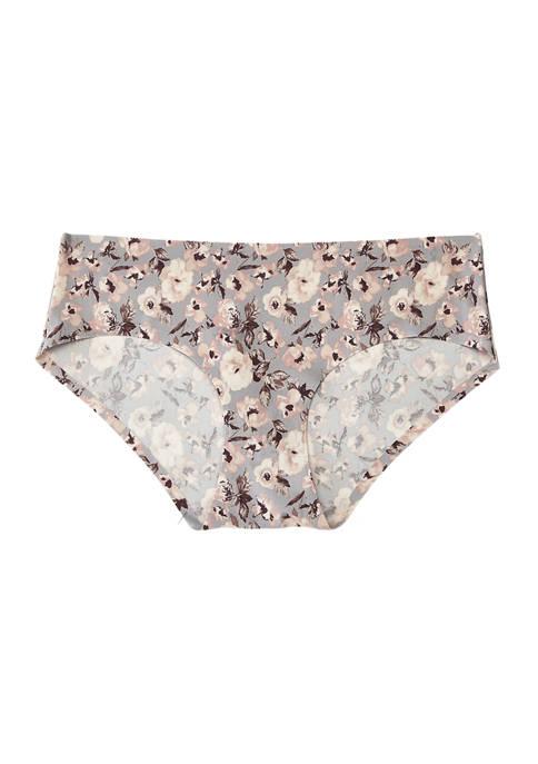 Floral Hipster Underwear