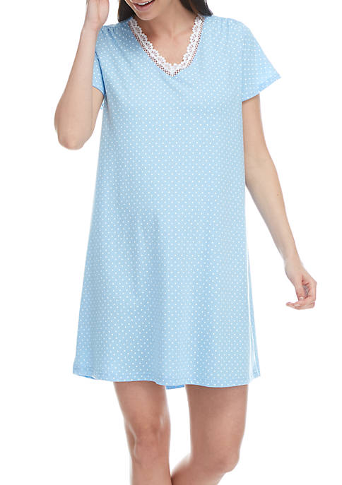 Karen Neuburger V-Neck Sleepshirt