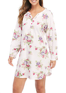 Long Sleeve Sleepshirt