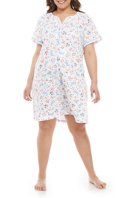 Plus Size Night Shirt