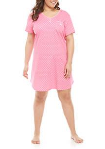 Karen Neuburger Plus Size Sleepshirt