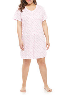 Karen Neuburger Plus Size Sleepshirt