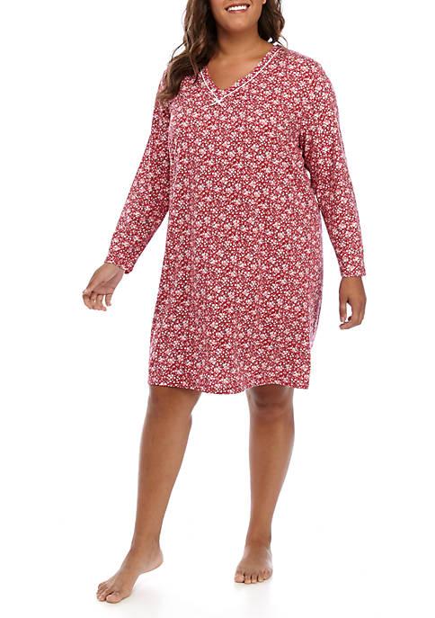 Karen Neuburger Plus Size Nightshirt
