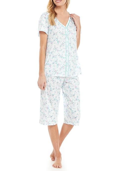Karen Neuburger 2-Piece Capri Pajama Set