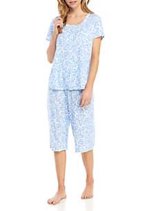 Karen Neuburger 2 Piece Cardigan Pajama Set