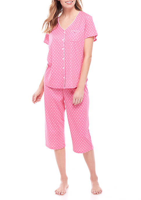 2 Piece Capri Pajama Set