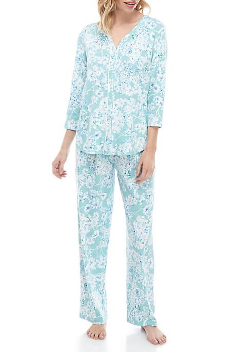 Karen Neuburger 2 Piece Pajama Pant Set