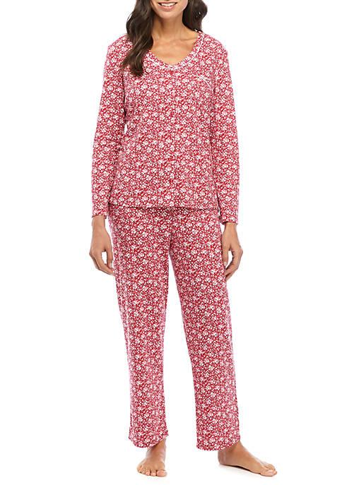 Karen Neuburger 2 Piece Long Sleeve Pajama Set