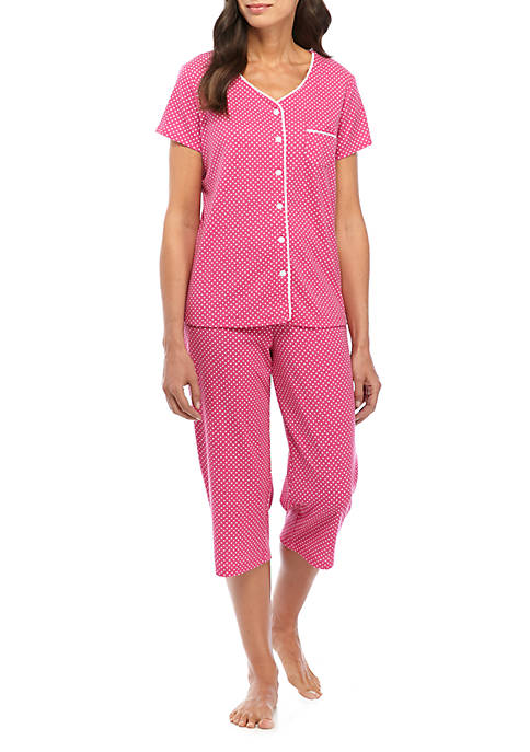 Karen Neuburger 2 Piece Top and Capris Pajama