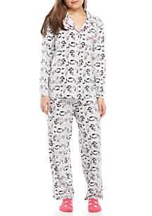 Knit Pajama Set with Socks