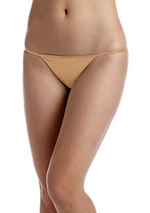 Sleek String Thong - D3509