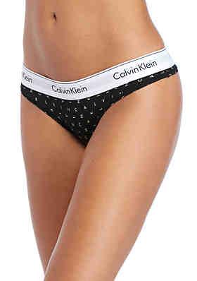 2634cb9d71 Calvin Klein Modern Cotton Thong - F3786 ...