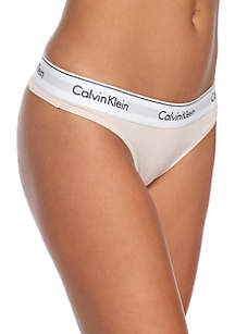 Modern Cotton Thong - F3786