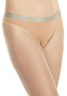 Radiant Cotton 3 Pack Thong - QD3590