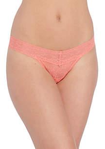 Bare Lace Thong - QD3596