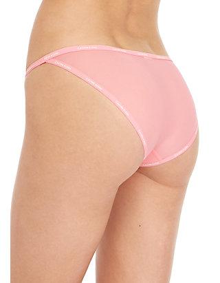 fcfebf739 ... Calvin Klein Sheer Marquisette String Bikini - QF1682
