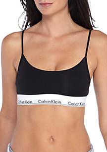 Modern Cotton Skinny Strap Bralette