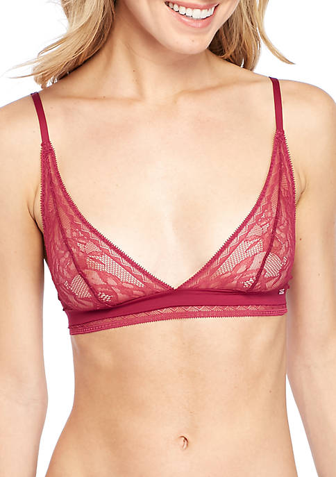 Calvin Klein Unlined Triangle Bralette