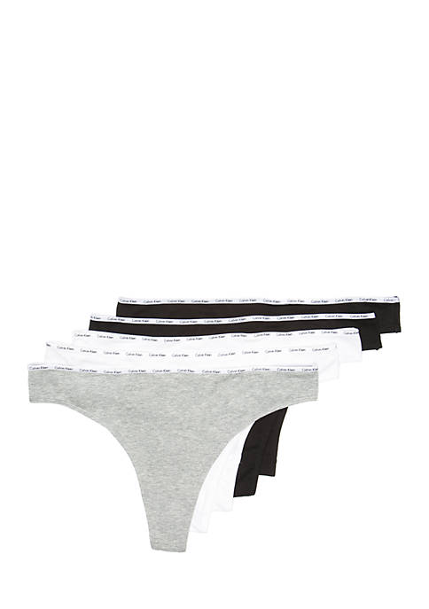 Cotton Thong 5-Pack