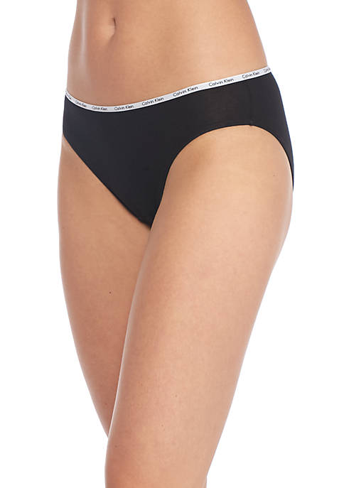 Calvin Klein 5 Pack Cotton Stretch Logo Bikini